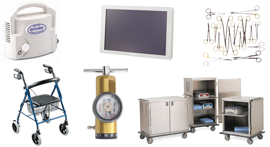 Medical Supply company offering new medical equipment and repair in